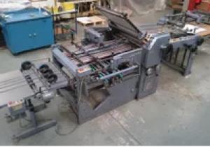 STAHL k66 4/4 ktl folding machine