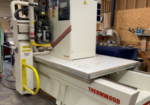 Used Thermwood Model C40 3 Axis Router, 5′ X 8′ Table, New In 2004