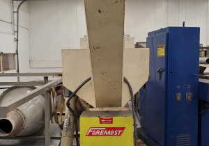 Used 20 Hp Scg-1116 Foremost Grinder