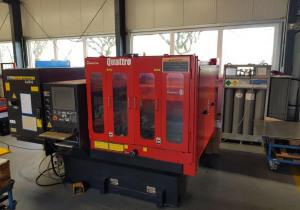 Amada Quattro laser cutting machine
