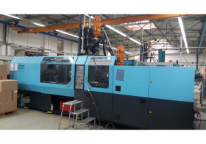DEMAG 350 T - 840-80 MULTI VERTICALE Injection moulding machine