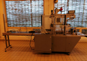Incomec/Cerex puffed rice cake production line