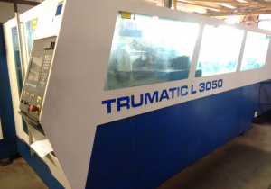 Used Trumpf TRUMATIC L3050 laser cutting machine