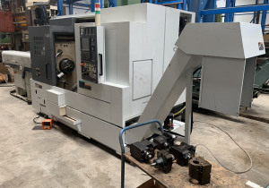 Used Mori Seiki NL 2500 Y / 700 CNC Lathe with Y-axis and drive tools