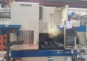 Used OKUMA MX 55 VB Machining center - vertical