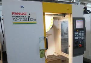 FANUC ROBODRILL ALPHA T21IDE 3-AXIS VERTICAL DRILL TAP MACHINING CENTER