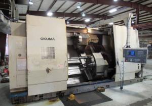 OKUMA IMPACT LU45M CNC LATHE 4-AXIS CNC LATHE