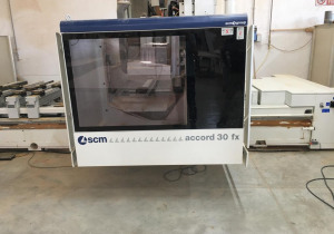 Used SCM ACCORD 30 FX Wood CNC machining centre - 5 Axis