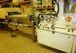 Sollich UT 820 Chocolate production machine - Enrobing line