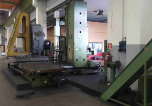 Used TOS WHN 13 CNC Table type boring machine CNC