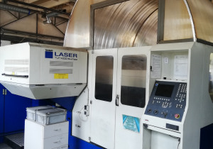 Trumpf 3030 Co2 4kW laser cutting machine