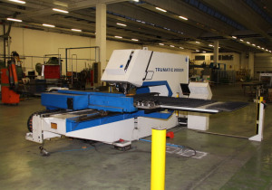 Trumpf TC 2000 R CNC punching machine