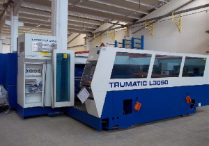 Used Trumpf tcl 3050 laser cutting machine