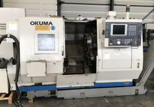 Used Okuma LU 15 M Big Bore 4-Axis CNC Lathe