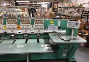Tajima Commercial Embroidery Machine 15 Head 15 Color TMFXV-CG1515