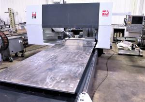 121inc 61inc 11inc XYZ Haas GR510 CNC Routeur, année 2014 avec CT40Taper, 10000 tr / min, rigide