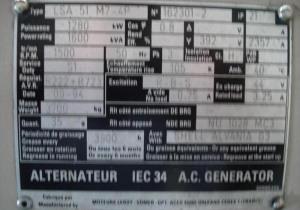 1994 Leroy Somer 1600 KVA