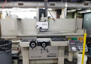 Okamoto Acc-16.32D, 3-Axis Auto Feeds, Auto Idf Surface Grinders, Hydraulic