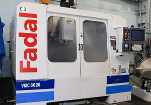 fadal 4-axis vertical machining center