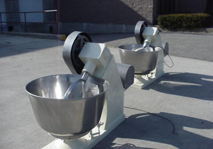 100 Qt. Ss Bowl Mixers, Inclined Beater (2)