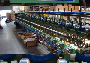 Schiffli embroidery Thread winding machine with 60 heads TAEHWA