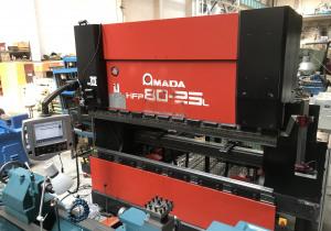 Press Brake Amada Hfp 8025 L, 2002 Year