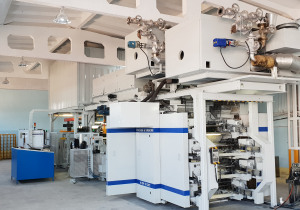 Flexo printing machine Fischer&Krecke