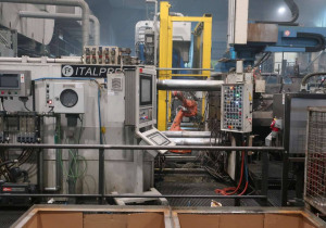Italpresse TF800 (Al Aloy) Die Cast Machine