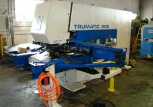 22 Ton, TRUMPF, TC200, Bosch-Trumagraph, 15 station in-line