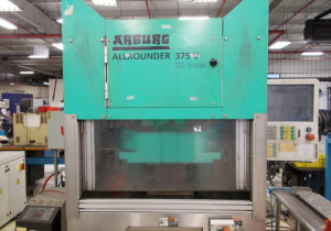 Arburg Allrounder 55-Ton Vertical Clamp Horizontal Injection Single Station Plastic Injection Molding Machine #2 2014