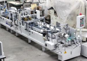 AUTOBOX 650 cartridge gluing machine, year 2009