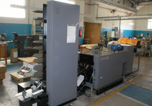 System 5000 double saddle stitcher and year 2009