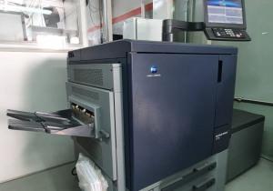 KONICA C71 HC digital press, year 2017