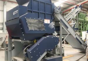 85 Hp 42″ X 44″ Lindner Shredding System