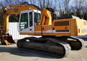 Crawlers Excavators Liebherr R 924Hds Litronic Used