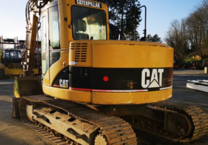 Crawlers Excavators Caterpillar 314C Used