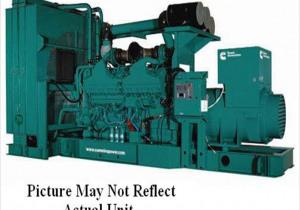 2010 Cummins Dqgaa Qsk50 G4 Generator Set