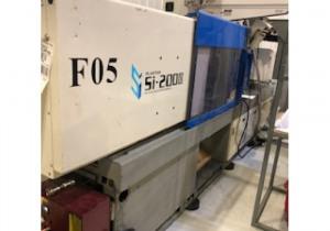 Machine de moulage par injection de plastique tout électrique Toyo 200 tonnes 2005
