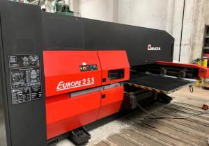 Amada Europe 255 Cnc Punching Machine (Year 2003)
