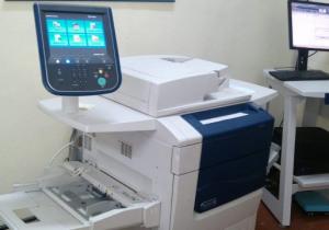 Xerox X570 digital press, year 2011