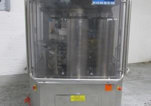 87 Station Korsch Rotary Tablet Press Mdl Xl800