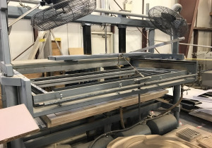 USED MODEL BV C-CLASS 48'' X 96'' SINGLE STATION THERMOFORMER