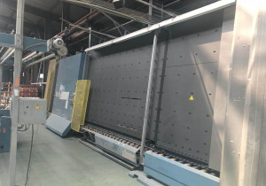 Lisec Insulating Line with Cutting Line & Frame Bending Machine