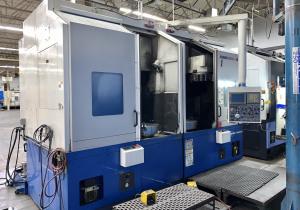 DOOSAN DAEWOO PUMA V550-2SP TWIN SPINDLE CNC VERTICAL TURRET CENTER