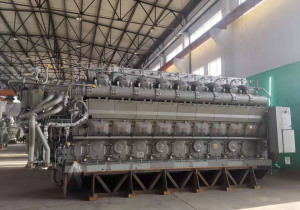 MAN 18V 32/40 diesel engines