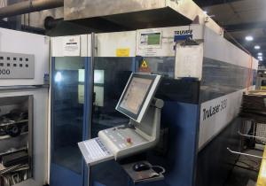 Machine 29022 4000-Watt Trumpf Trulaser-3030 Laser Cutting System