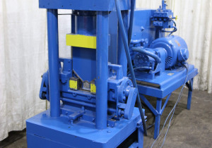 150 Ton Whitney Model 765 Hydraulic Angle, Bar: