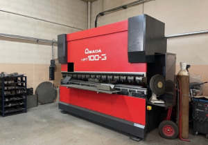 AMADA HFT 100-3 press brake of 3m by 100t year 2007