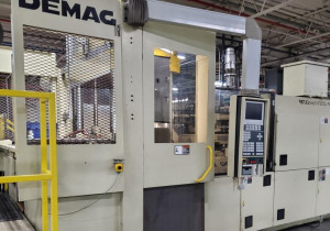 250 Ton Demag Ergotech250V Vertical 2-Station Rotary Injection Molding Machine