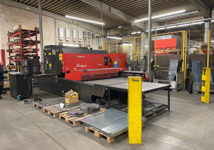 Amada LC 2415 A III 4kW laser cutting machine